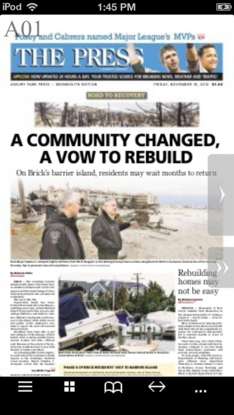 Asbury Park Press Print Edition