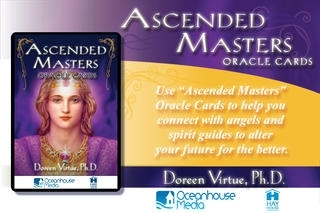 Ascended Masters Oracle Cards - Doreen Virtue, Ph.D.