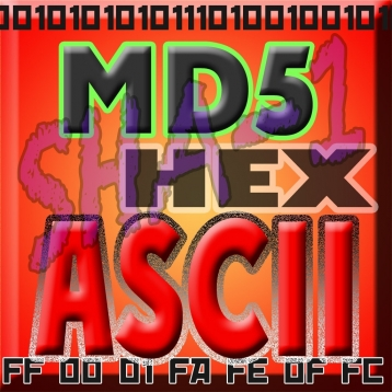!ASCII HEX BASE64 MD5 SHA-1 BINARY text converter utility Pro