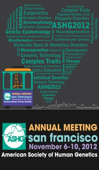 ASHG 2012 Annual Meeting