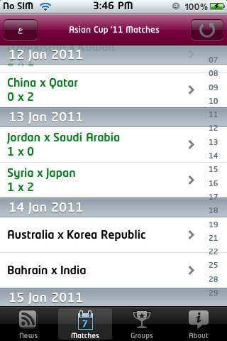 Asian Cup '11