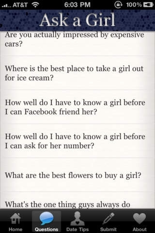 Ask a Girl: The Ultimate Date Guide