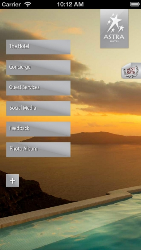 Astra Suites for iPhone