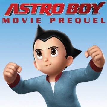 Astro Boy Movie Prequel: Underground Graphic Novel