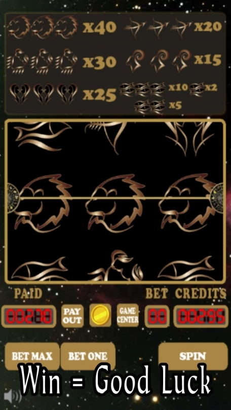 Astrology Zodiac Signs Slots Pro With Daily Horoscope Bonus Coins