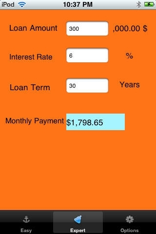AT Mortgage Calculator