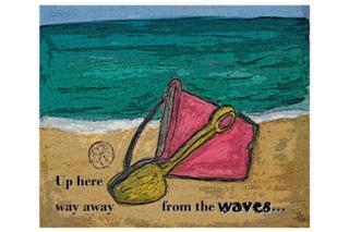 At the Beach with Bucket and Spade - iStoryTime Kids' Book