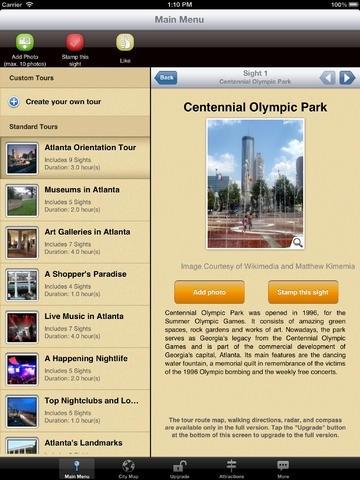 Atlanta Map and Walks