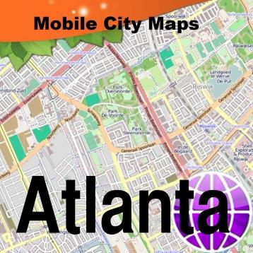 Atlanta Street Map.