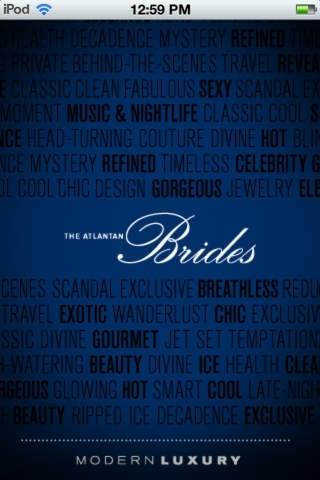 Atlantan Brides: iPhone Edition