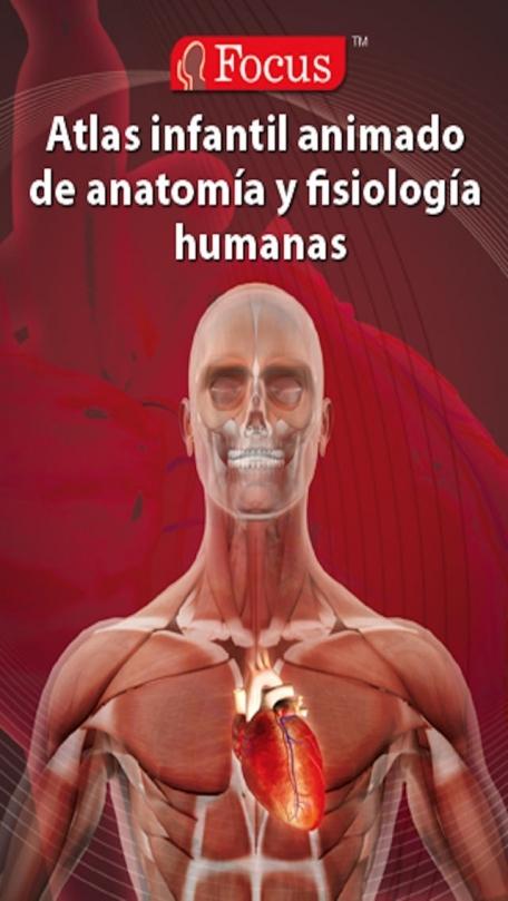 Atlas infantil animado de anatomía y fisiología humanas