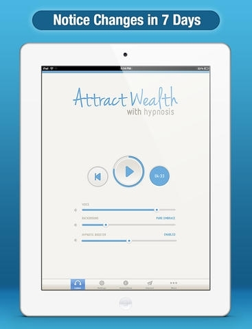 Attract Wealth Hypnosis - Free Discover the Secret to Getting Rich Quick, Achieving Financial Abundance, and Having a Money Success Mindset with Meditation and Hypnotism Edition for iPhone/iPad