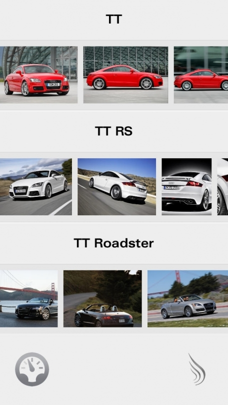 Audi R, RS, TT Collection