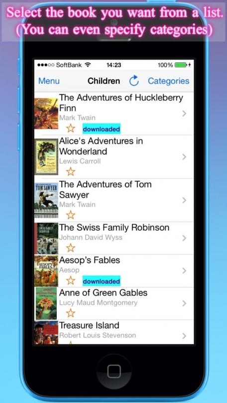 AudiBook - EPUB & Classic Titles Voice Reader(