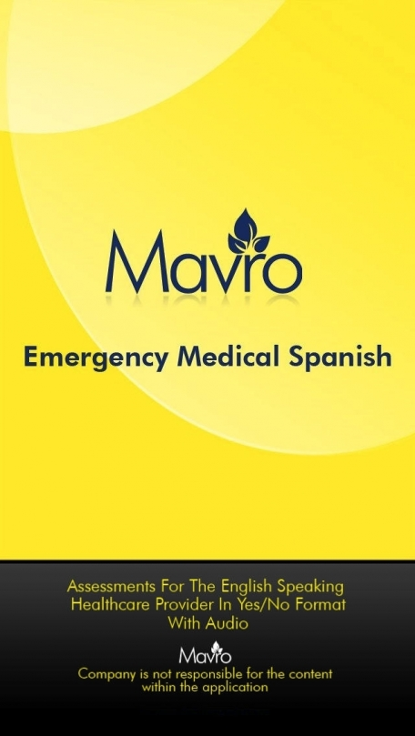 AUDIO- Medical Spanish