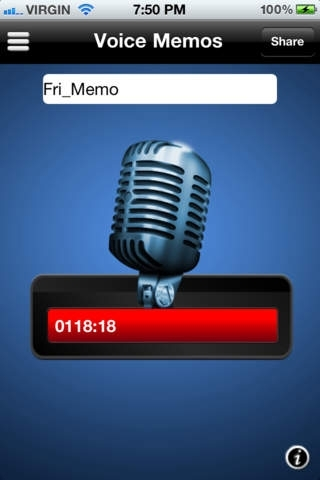 Audio Recorder: For Facebook & Twitter