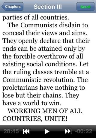 Audiobook-Communist Manifesto