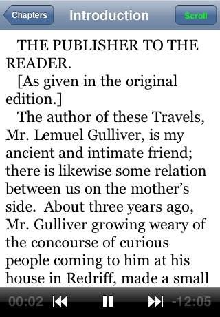 Audiobook-Gulliver's Travels
