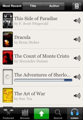Audiobooks - 2,947 Classics For Free. The Ultimate Audiobook Library