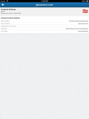 Audit Log for Google Apps