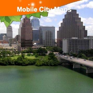 Austin Street Map.