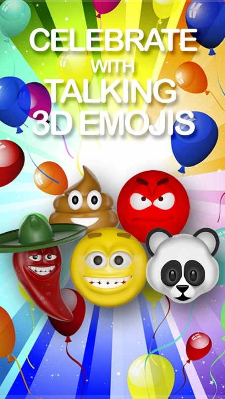 Emoji Party Free Talking Emoticon Text Art for Happy Birthday – Free Text Message Birthday Cards