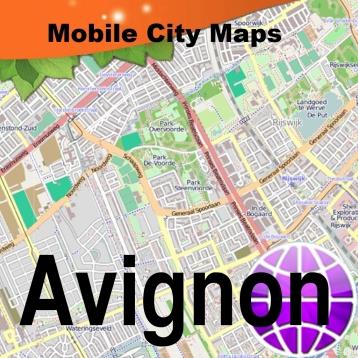 Avignon Street Map