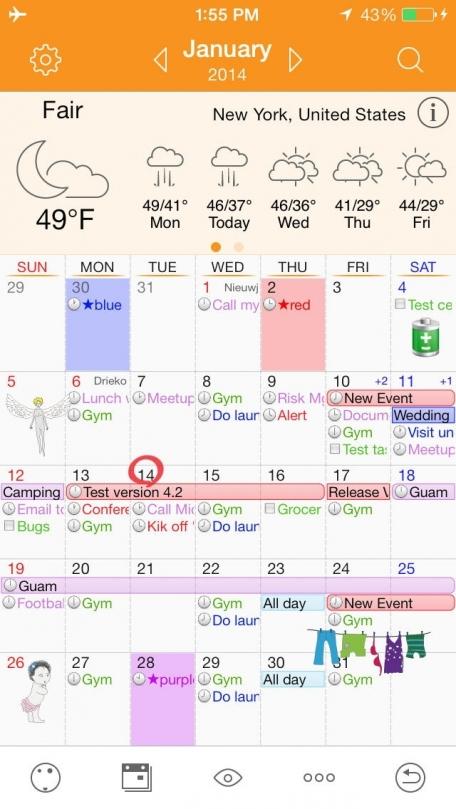 Awesome Calendar