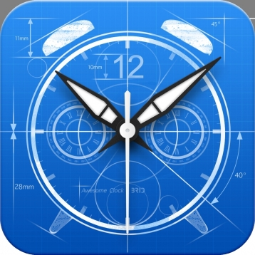 Awesome Clock (+Alarm/Weather/Sleep Timer) by BRID