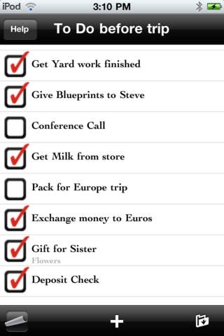 Awesome Lists - To do + Lists for iPhone