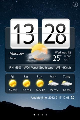 Awesome Live Weather Clock Pro