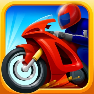 Awesome Racer Boy Unstoppable Motorcycle Thief Police Chase