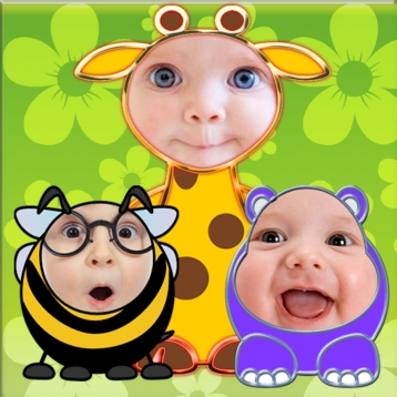 Baby Faces Photo Frames