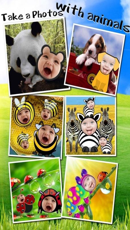 Baby Faces Photo Frames