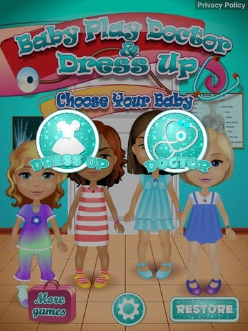 Baby Play Doctor & Dress Up