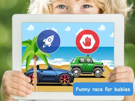 Baby Race - build a car and take a ride!