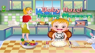 Baby Table Manner