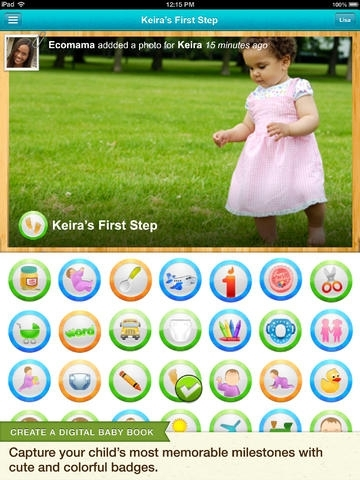 Baby Tracker & Digital Scrapbook | Kidfolio Free