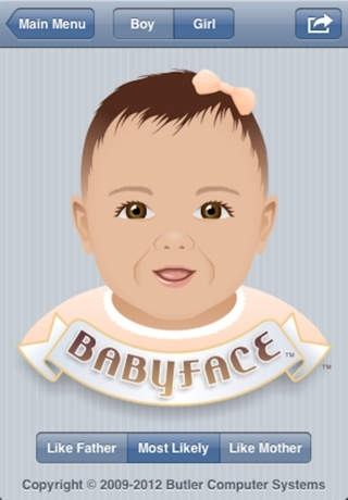 Babyface - Baby Appearance Predictor  ( pregnant or expecting pregnancy )