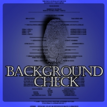 Background Check Scanner