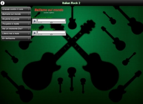 Backing Tracks - Guitar & Voice - Italian Rock 2
