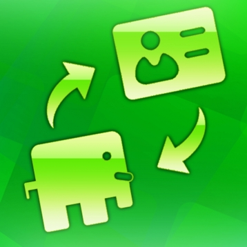 Backup address book to Evernote