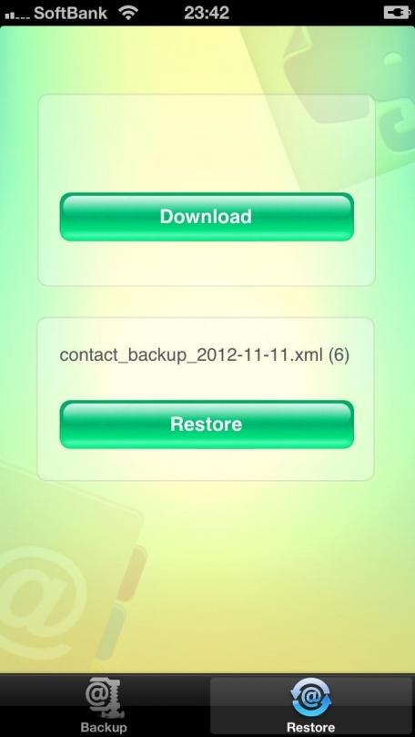 Backup address book to Evernote