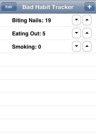Bad Habit Tracker