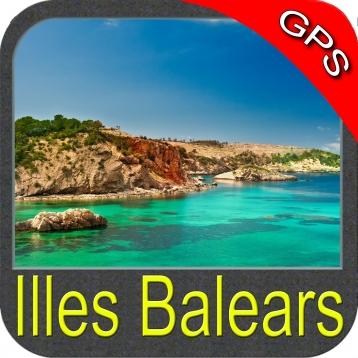 Balearic Islands - Nautical Chart GPS