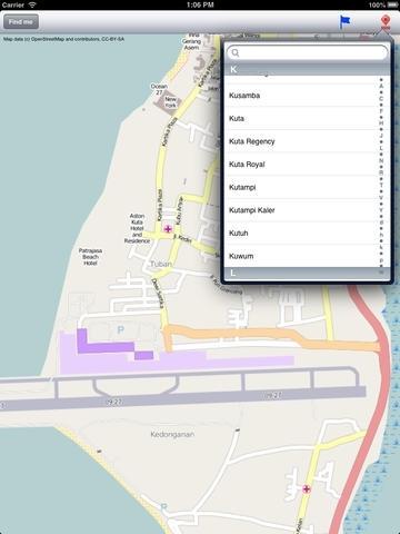 Bali Street Map