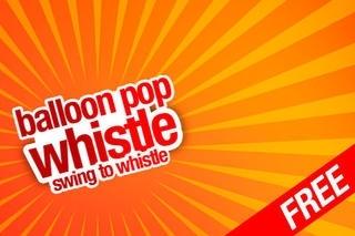 Balloon Pop Whistle