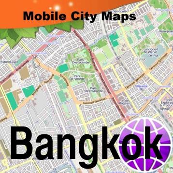 Bangkok Street Map.