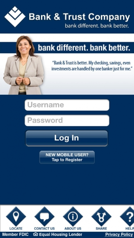 Bank & Trust Company Mobile Banking