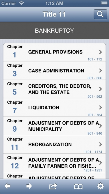 11 USC - Bankruptcy (Title 11 United States Code)